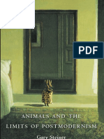 """Animals and the Limits of Postmodernism,"" by Gary Steiner"