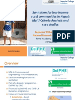 Sanitation for Low-income Communities in Nepal