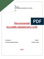 Craciun Cristina - Macroeconomie