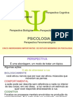 Aula Introdução a Psicologia - Teologia
