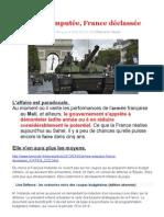 Armée amputée, France déclassée