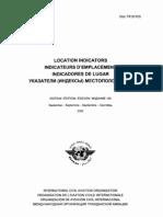 Doc 7910 - ICAO Location Indicator