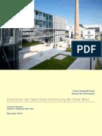Evaluation der Open Data Umsetzung der Stadt Wien