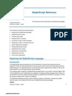 TR0120 Delphi Script Reference