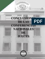 Conclusiones Conferencia Nacional de Jueces Final