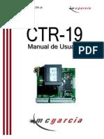 Control Porton Electrico (Similar) CTR19