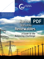 Harnessing Variable Renewables2011