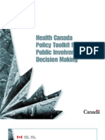 Canada_ Policy Toolkit for Public Involvement
