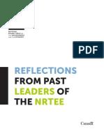 Reflections NRTEE