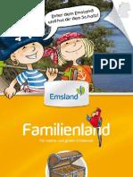 Emsland Familienland Broschüre