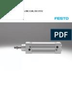 FESTO - Cilindros Normalizados DNC - C180, IsO 15552