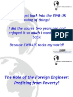 The Role of the Foreign Engineer