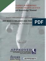 JAA ATPL BOOK 06 - Oxford Aviation Jeppesen - Mass Balance and Performance