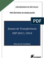 Manual do Candidato_Exame de Transferência USP 2014.pdf
