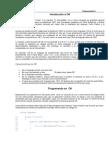 Introduccion a lenguaje de programacion C#