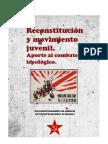 Reconstitución y movimiento juvenil_ JCA_JCZ
