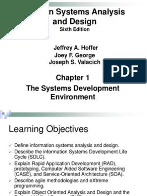 Modern System Analysis and Design | Software Development Process