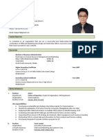 CV of Izazul Haque