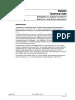 transfomer design.pdf