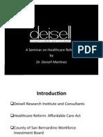 A Seminar on Healthcare Reform