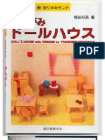 Craft Kirigami - Doll's House With Origami - Momotani