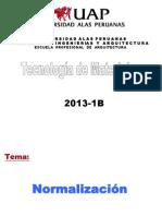 Tema 02- Normalizacion Tecnologia de Los Materiales