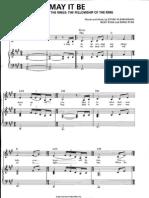 3 May It Be [Piano Sheets]