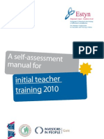 A Self-evaluation Manual for Initial Teacher Training - 2011 (1)