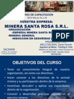 Minera Santa Rosa - Capacitacion
