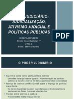 Ativismo Judicial - Aula Baseada Em Textos