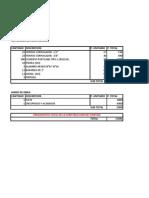 Presupuesto de Ponton