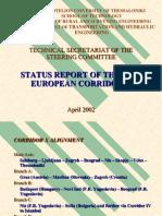 Status Report of the Pan European Corridor X