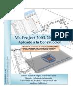 Manual Microsoft Project 2003-2007-2010 Manual Aplicado a La Construccion