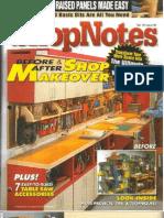 Crafts - Woodworking - Magazine - (eBook) - Shopnotes #92 - Before & After Shop Makeover