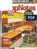 Crafts - Woodworking - Magazine - (eBook) - Shopnotes #92 - Before & After Shop Makeover