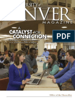 University of Denver Magazine Spring 2013 issue