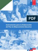 OrientacionesparaPlanificaciOn Formato PME SEP 2013
