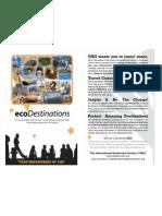 ecoDestinations Brochure