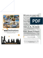 ecoDestinations Brochure