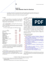 Standard Test Method for Electrical Insulation