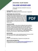 ETS Job Desc 13