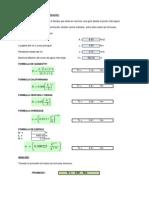 3.- Tiempo de Concentracion Excel