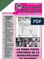 Observador Provincial - Febrero 2013