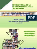 SITUACIÓN EDUCATIVA GUATEMALA