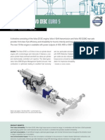 Volvo B13R Driveline Fact Sheet