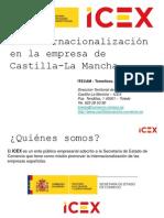 Presentacion ICEX Next en ITECAM