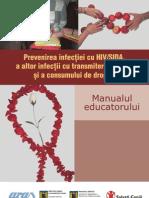Manual Educatorului Hiv Sida[1]