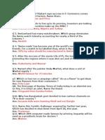 Business Quiz Final Word Document