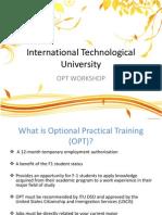 International Technological University - ITU