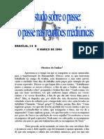 Estudo Sobre o Passe - O Passe nas Reuniões Mediúnicas (Federação Espírita Brasileira)